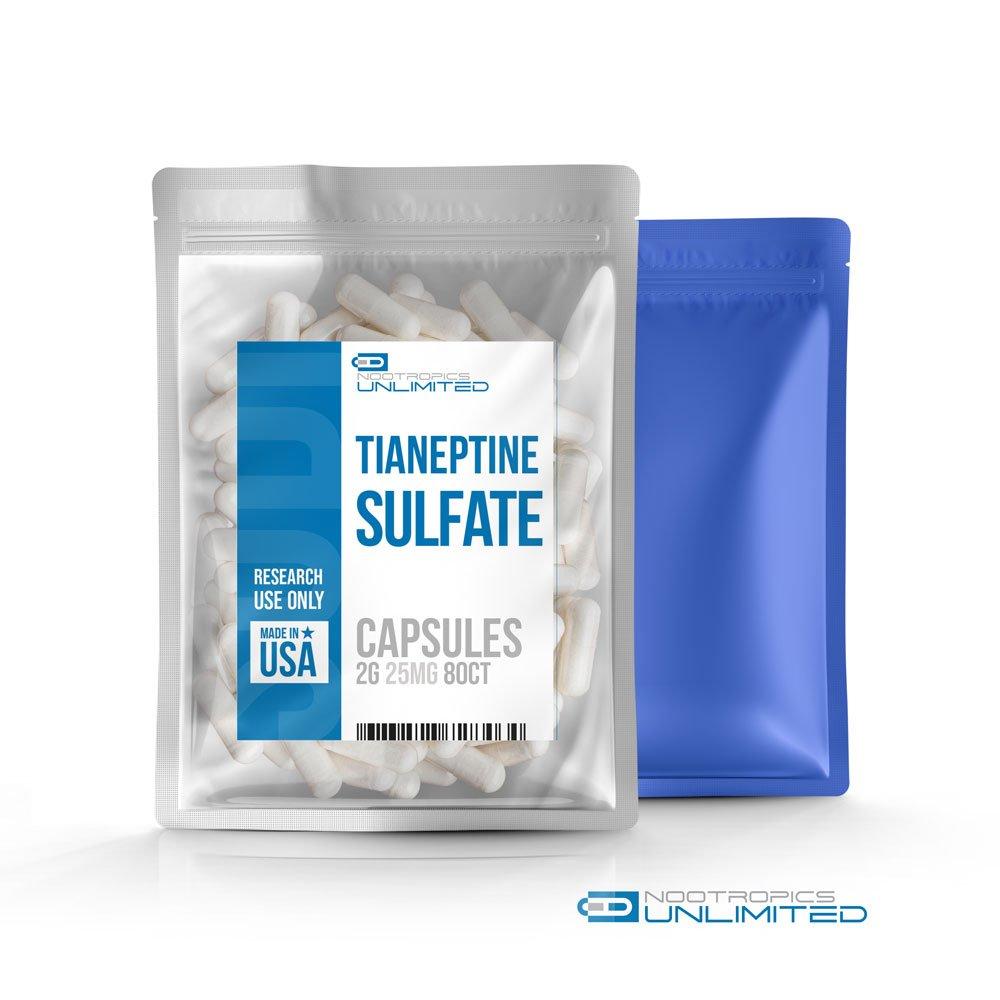 Tianeptine Sulfate Capsules 25mg//80cp