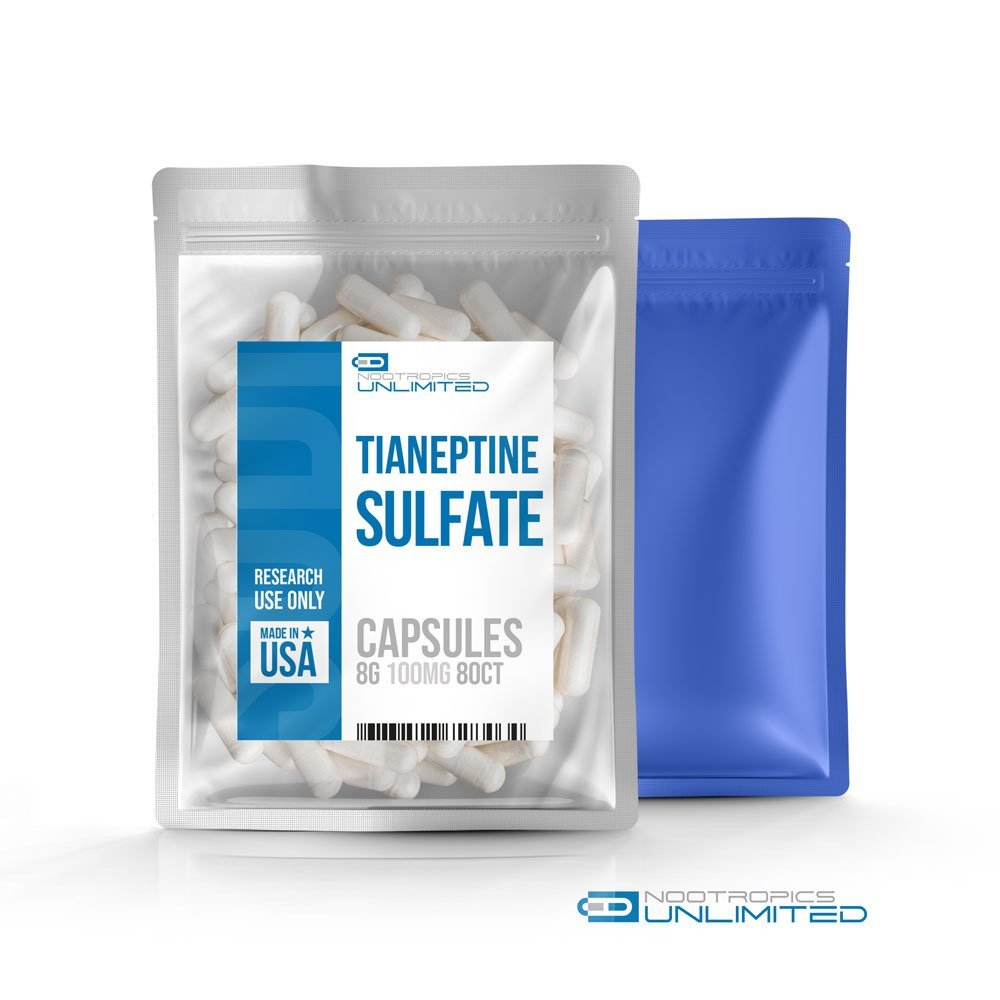 Tianeptine Sulfate Capsules 100mg//80cp